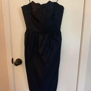 Navy J. Crew Dress with POCKETS